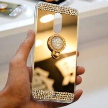 Diamond Phone Case For Samsung A50 J3 J5 J7 A10 A20 A30 A70 M10 M20 Mirror Plate