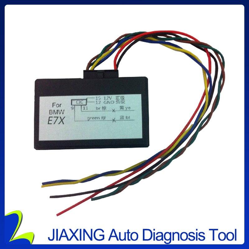 Prix pour Nouveau Pour E7x CIC rénovation adaptateur émulateur video in motion, navi, le contrôle vocal activation pour X5, X6, E70, E71 = E7X CIC modèle