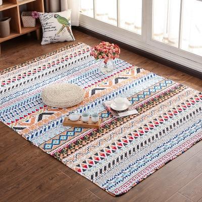 Jepang Bunga Tikar Tatami Kapas Karpet Ruang Tamu R Tidur Anti Selip Window Cushion