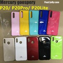 New Original Mercury GOOSPERY Colorful Pearl Jelly Slim TPU Bumper Soft Phone Case