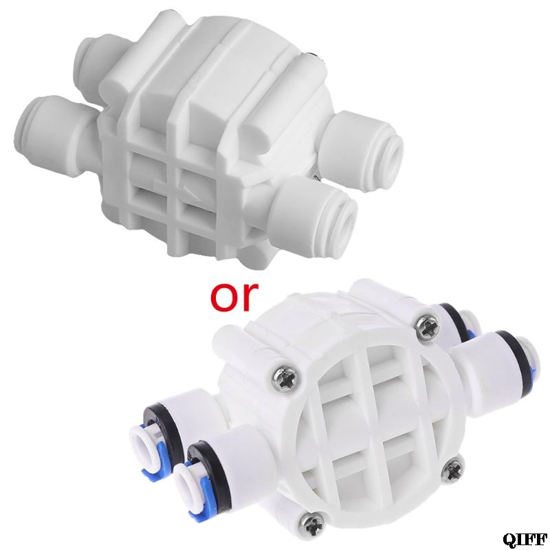 Dropshipping 4 Way RO Auto Shut-Off Valve Switch 1/4