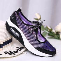 Sneakers Casual Women Vulcanize Shoes Ladies Vulcanize Women Shoes Wedges Snakers Bow Tie Women'S Casual Tennis Shoes Female