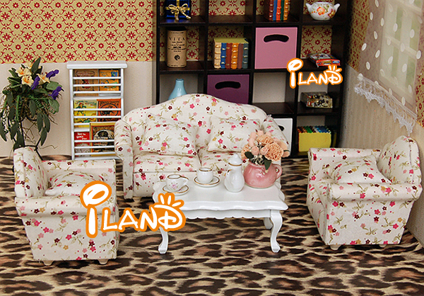dolls house living room furniture 1 12 dollhouse miniature living room furniture sofa set 4 19894