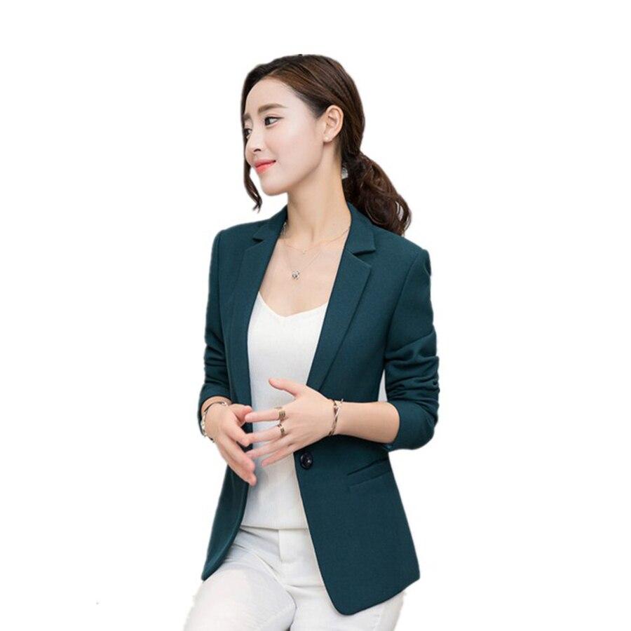 Slim Fit Blazer Feminino Plus Size Casual Elegant Jackets Female Business Suit Jaqueta Feminina Ladies Blazers 2017 Coat 50N0373