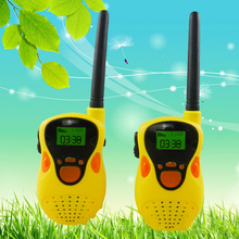 цена на 2 pcs 1 Pair Walkie Talkies toy Mini Handheld Portable Children Walkie Talkie Radio Outdoor Interphone Toy for Children Gifts