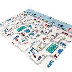 Складной детский игровой коврик XPE, пазл, игрушки для детей, коврик толщиной 1 см для ползания, Детские Развивающие коврики для игр для малыше...