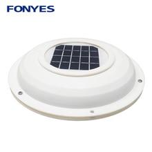 Solar powered vent fan attic ventilation for home RV boat caravans car ventilator air extractor exhaust fan