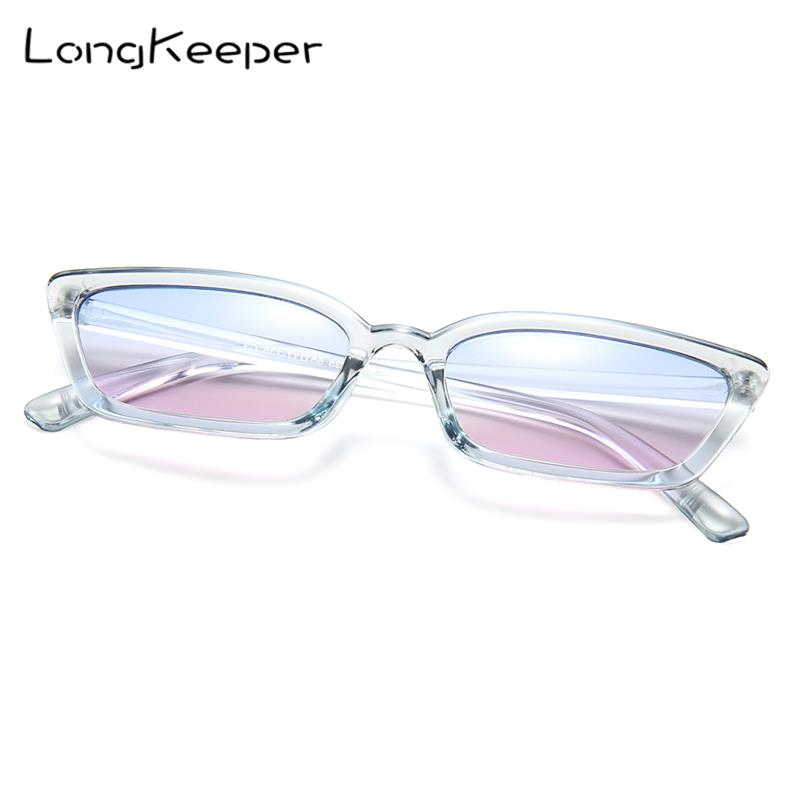LongKeeper Woman Classic triangle <font><b>cat's</b></font> <font><b>eye</b></font> <font><b>sunglasses</b></font> <font><b>women's</b></font> fashion new <font><b>sexy</b></font> 2019 best master <font><b>design</b></font> <font><b>brand</b></font> gafas de sol image