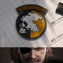 METAL GEAR SOLID MGS PEACE WALKER MILITAIRES FRONTIERES AMERIKAANSE LEGER VS PATCH PVC BADGE Voor Rugzak jas(China)