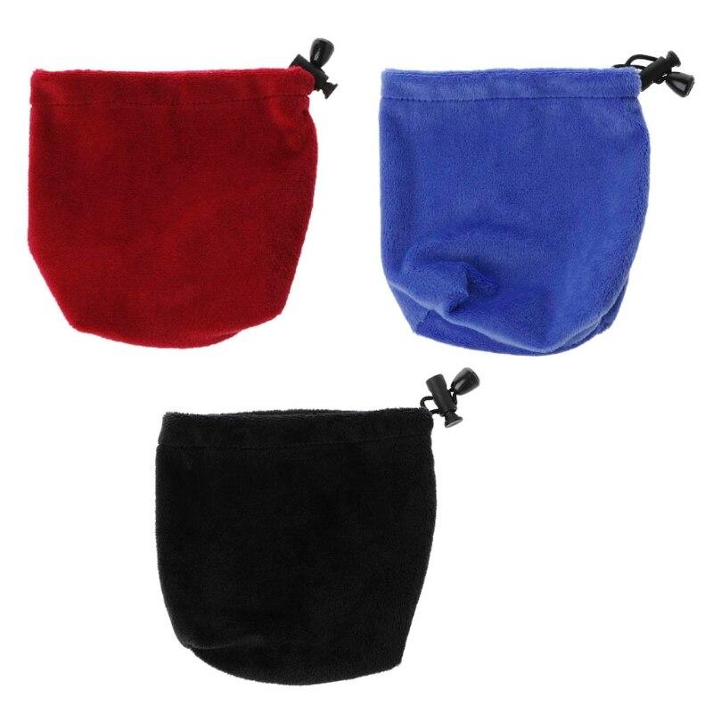 Saco de veludo para armazenamento e proteger velocidade cubo mágico jogo de quebra-cabeça alta qualidade novo azul/vermelho navio da gota