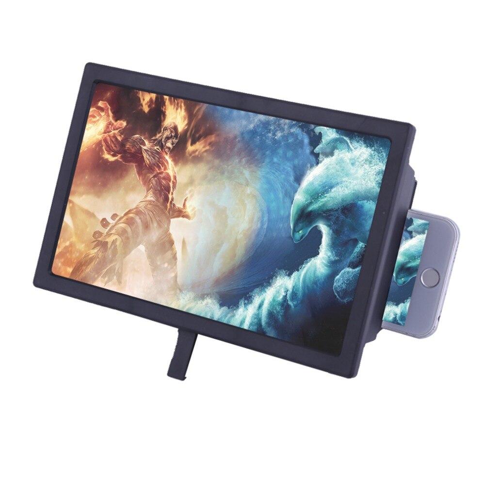 2017 Universal Écran Amplificateur F2 Professionnel Mobile Téléphone Écran Loupe Portable Taille 3D Film Vidéo Agrandir Stand Titulaire