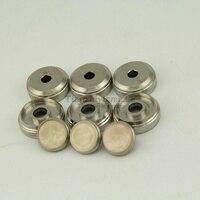 3 pcs trumpet Repair parts Upper valve cap+3 pcs Buttonr valve cap tumpert part