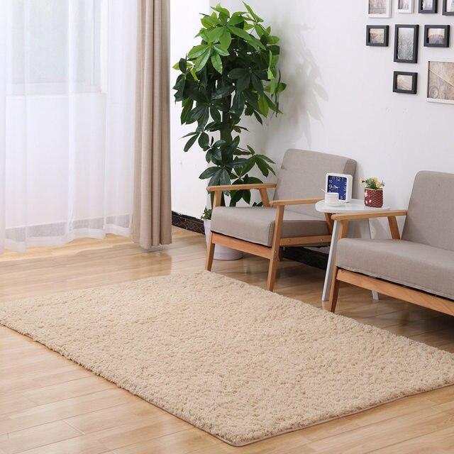 felpa larga antideslizante carpet felpudos de alfombras de piso para el hogar saln dormitorio saln espesar - Alfombras Salon