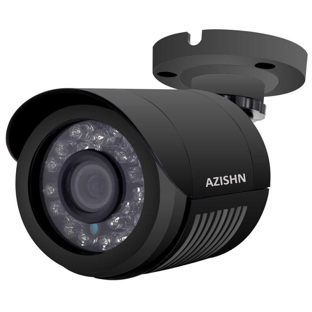 AZISHN AHD caméra 720 P/1080 P/5MP CCTV sécurité AHDM AHD-M caméra HD ir-cut vision nocturne IP6 caméra de balle extérieure 1080 P objectif
