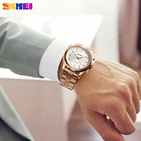 SKMEI Quartz Watches Men Smart Pedometer Calories Multifunction Sport Wristwatches 30m Waterproof Watches Men Fashion Watch