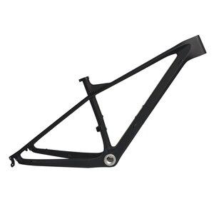 Image 2 - 2019 27.5er 15 17 19 פחמן מסגרת אופני הרי מירוץ פחמן MTB אופניים מסגרת דחף סופר אור BSA BB30 PF30 2 שנה אחריות