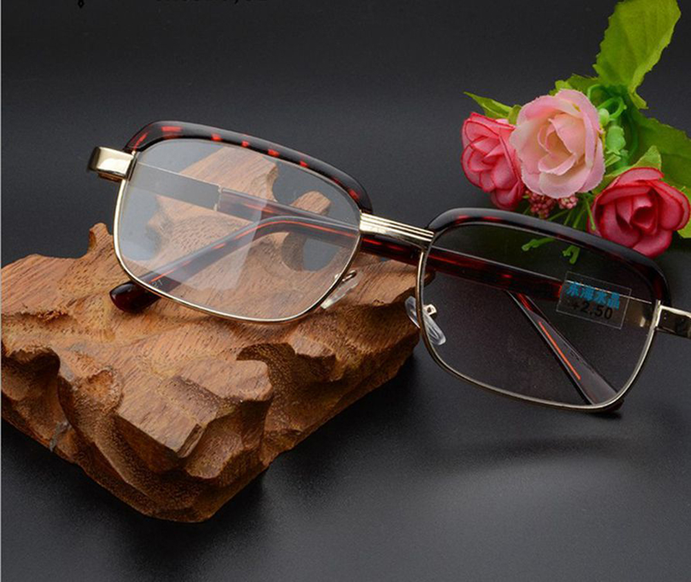=CLARA VIDA= Retro Eyebrows Reading Glasses With Case +4.5 +5 +5.5 +6 +6.5 +7 +7.5 +8 +8.5 +9 +9.5 +10 +10.5 +11 +11.5 +12