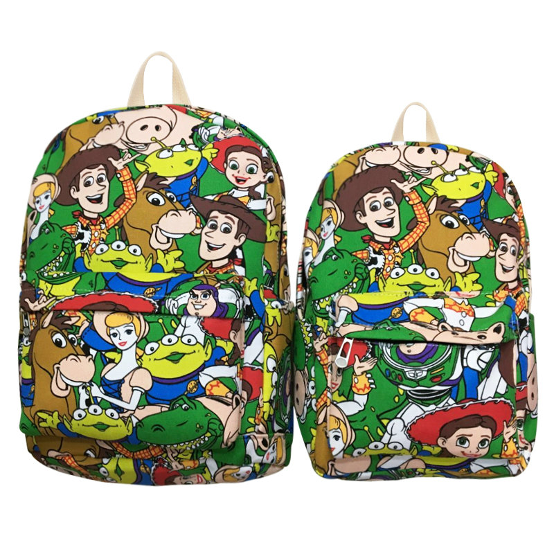 2018 Sale New Mochilas Popular Zipper Toy Story Woody Buzz Light Year Backpacks For Teenage School Bag Travel 12 15 Students