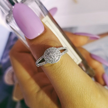 Original Design 925 sterling silver fashion luxury wedding ring engagement finger ring wholesale jewelry R4613S недорого