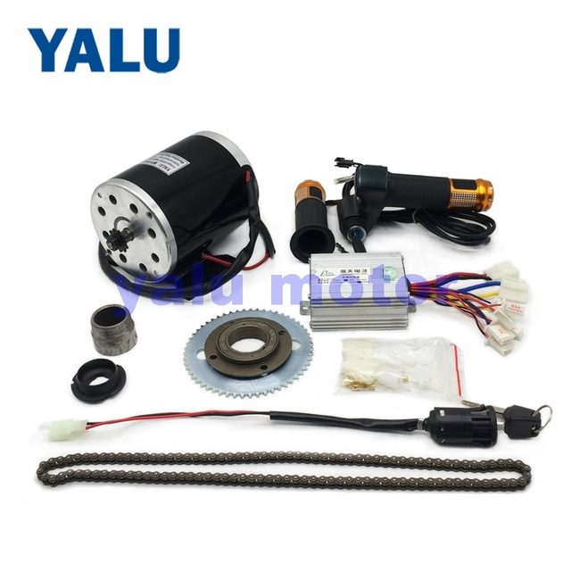24-48V 500-1000W Electric Scooter Motor Electric Bike Belt Drive MY1020 High Speed Belt MOTOR electric scooter conversion kit