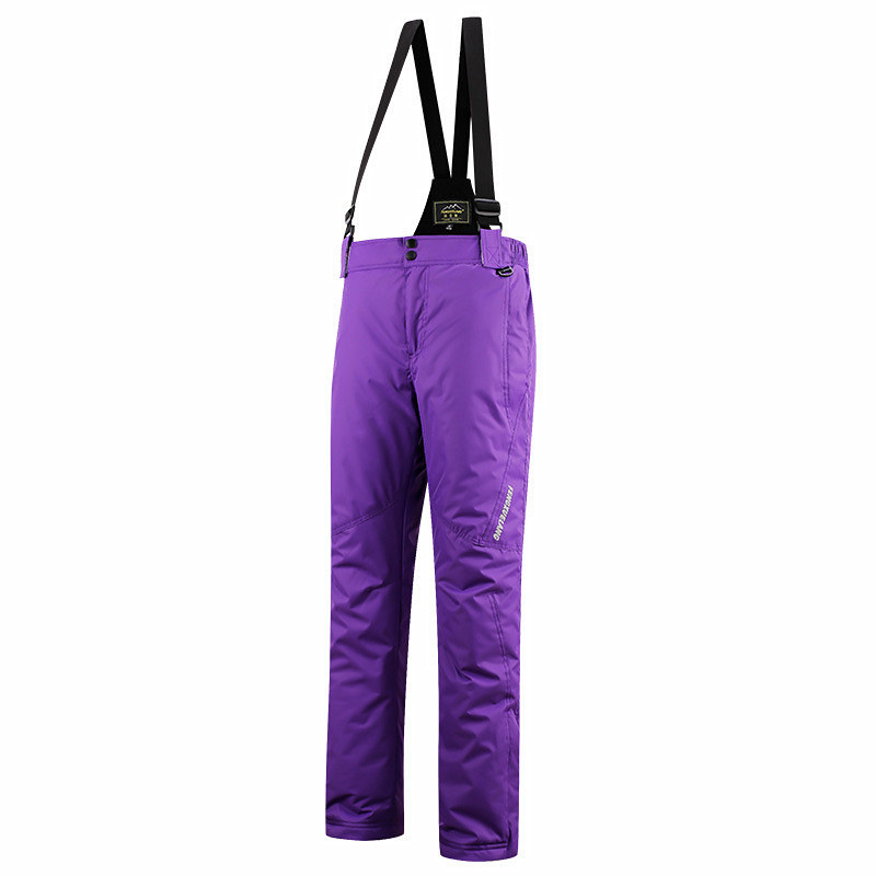 871a75401ab New Ski Pants Women Snowboard Snow Pants Waterproof Super Warm Ski Trousers  Plus Female Size 4XL Thicken Winter Outdoor Trousers