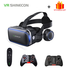 18717dd7579dee Shinecon 6.0 Casque VR Virtual Reality Bril 3 D 3d Bril Headset Helm Voor  Smartphone Smart