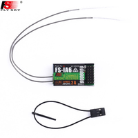 1pcs FlySky FS-iA6 6 Channel Receiver AFHDS 2A 2.4G Radio system Replacement For FlySky FS-I10