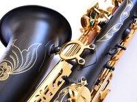 Selme54 тенор саксофон/ветра бемоль матовый черный никель золото надпись резные