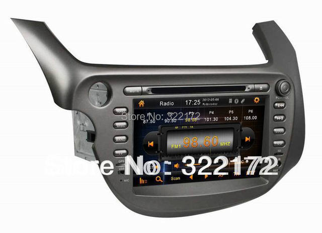 Car Radio Audio DVD Player GPS For Honda New FIT 2009~2011 Free Shipping
