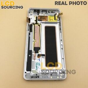 "Image 4 - 5.7 ""inç LCD ekran Samsung Galaxy not 7 için LCD dokunmatik ekran Digitizer meclisi not 7 FE N930 n930F ekran yerine"