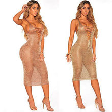 Women Sheer Bathing Suit  Crochet Bikini Dress Summer Beach 2019 Hot Sale