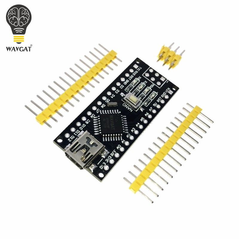 WAVGAT Nano Mini USB With the bootloader compatible Nano 3.0 controller CH340 USB driver 16Mhz Nano v3.0 Same as ATMEGA328P dfrobot original bluno nano micro mini main controllers atmega328 7v 12v integrated bluetooth 4 0 compatible with arduino nano