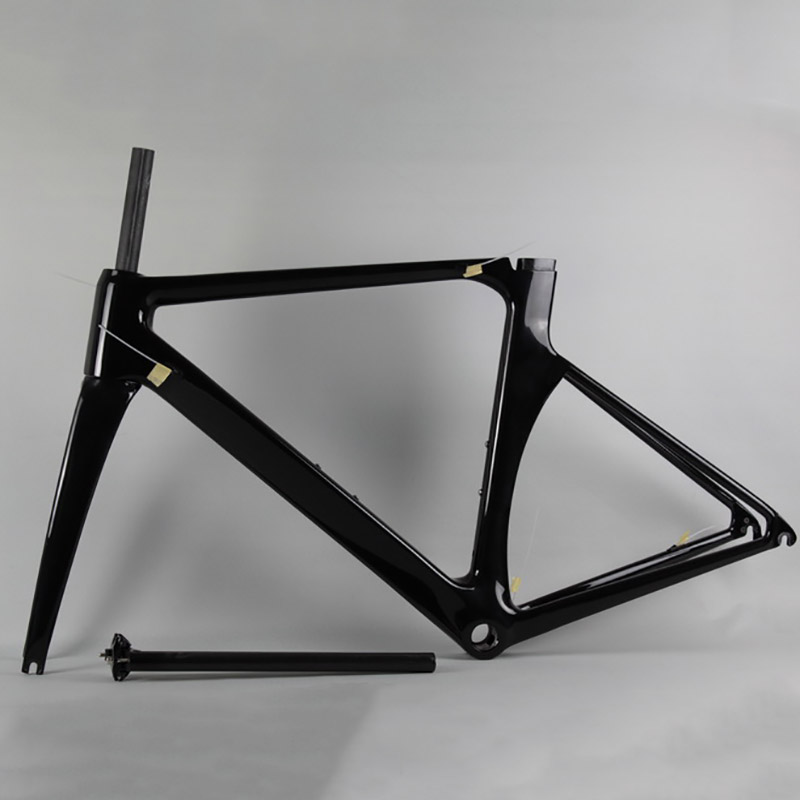Low price carbon road bike frame T1000 2017 carbon road bicycle frames aero 700C racing bike carbon frame bicycle parts 2018 carbon fiber road bike frames black matt clear coat china racing carbon bicycle frame cycling frameset bsa bb68