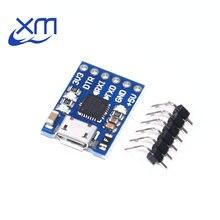 Cjmcu cp2102 micro usb para uart ttl módulo 6pin conversor serial uart stc substituir ft232 novo i41