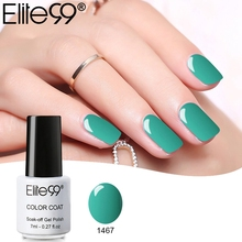 Elite99 7ml Gel Nail Polish Soak Off UV Nail Art Manicure for Long-lasting Gel Polish Top Base Glue Varnish