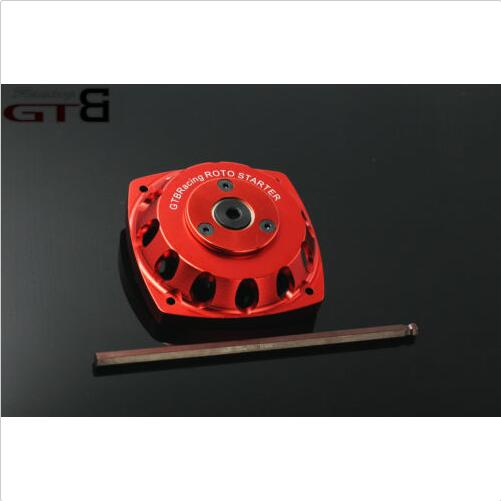 GTB CNC metal roto starter electric start for HPI BAJA 5B/5T/5SC LOSI 5ive t red 65kg big torque metal gear steering servo with 15t 17t double sided cnc metal arm for 1 5 hpi rovan baja 5b 5t losi 5ive t
