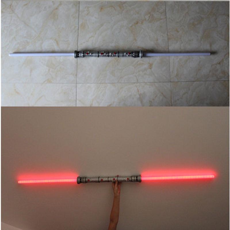 2 pcs/lot Star Wars Sabre Laser Dark Rouge Star Wars Sabre laser Menthe Son Sabre laser 180 cm