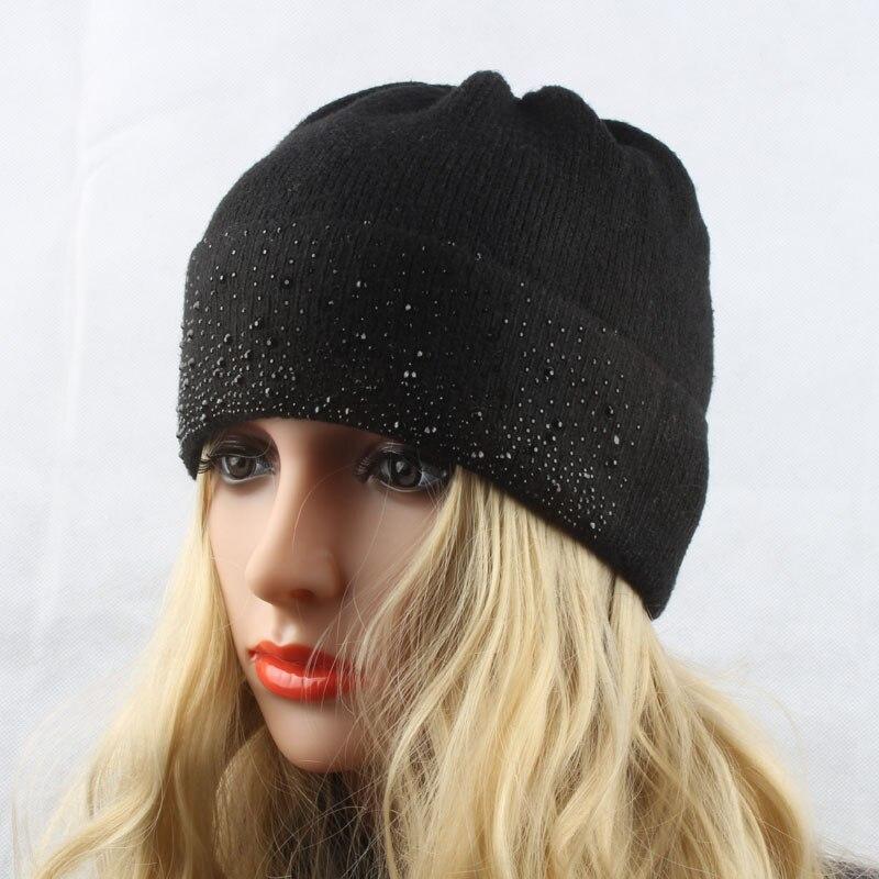 Damen Wintermützen Gestrickte Wollmützen für Damen Warme Mütze - Bekleidungszubehör - Foto 3