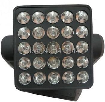 2 шт./лот, сценический светодиодный светильник 25 шт. * 12 Вт 4 в 1 rgbw, СВЕТОДИОДНЫЙ матричный луч, движущийся, для мытья головы, dj освещение с dmx, ве...