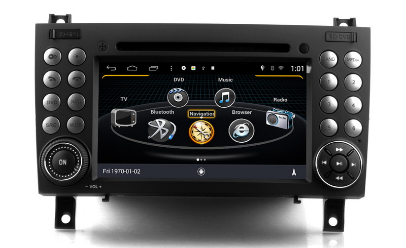 Android 7 1 Car GPS Navigation For Benz SLK 171 2004 2011 DVD Player Touch USB