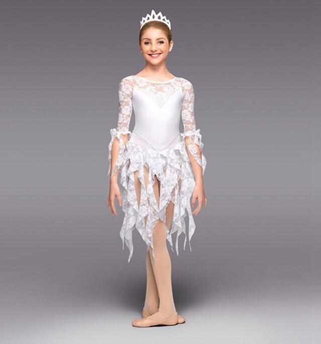 2018 Sale Gymnastics Leotard Original Single Female Children Dance Ballet Skirt Lace Dress Clothes And New Performance Clothing