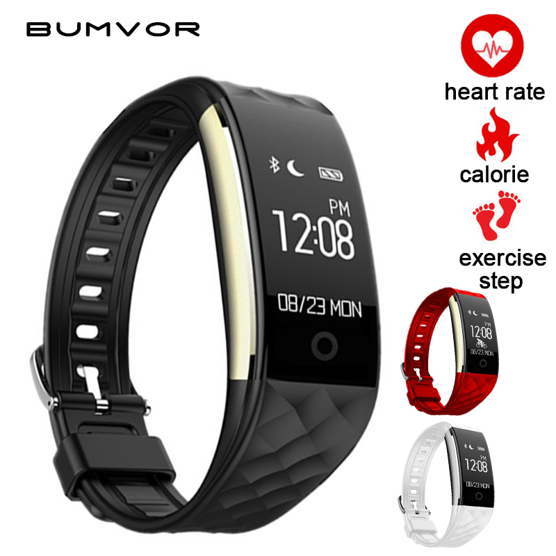 BUMVOR S2 Smart Watch With Heart Rate Monitor Pedometer Cycling Fitness Tracker Bracelet Reminder Smartwatch pk ID115