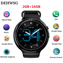 DEHWSG I4 AIR Smart Watch MTK6580 2gb+16gb 3G+GPS+WiFi 400mah Smartwatch call reminder Android 5.1 Wearable Devices PK KW88 LES1