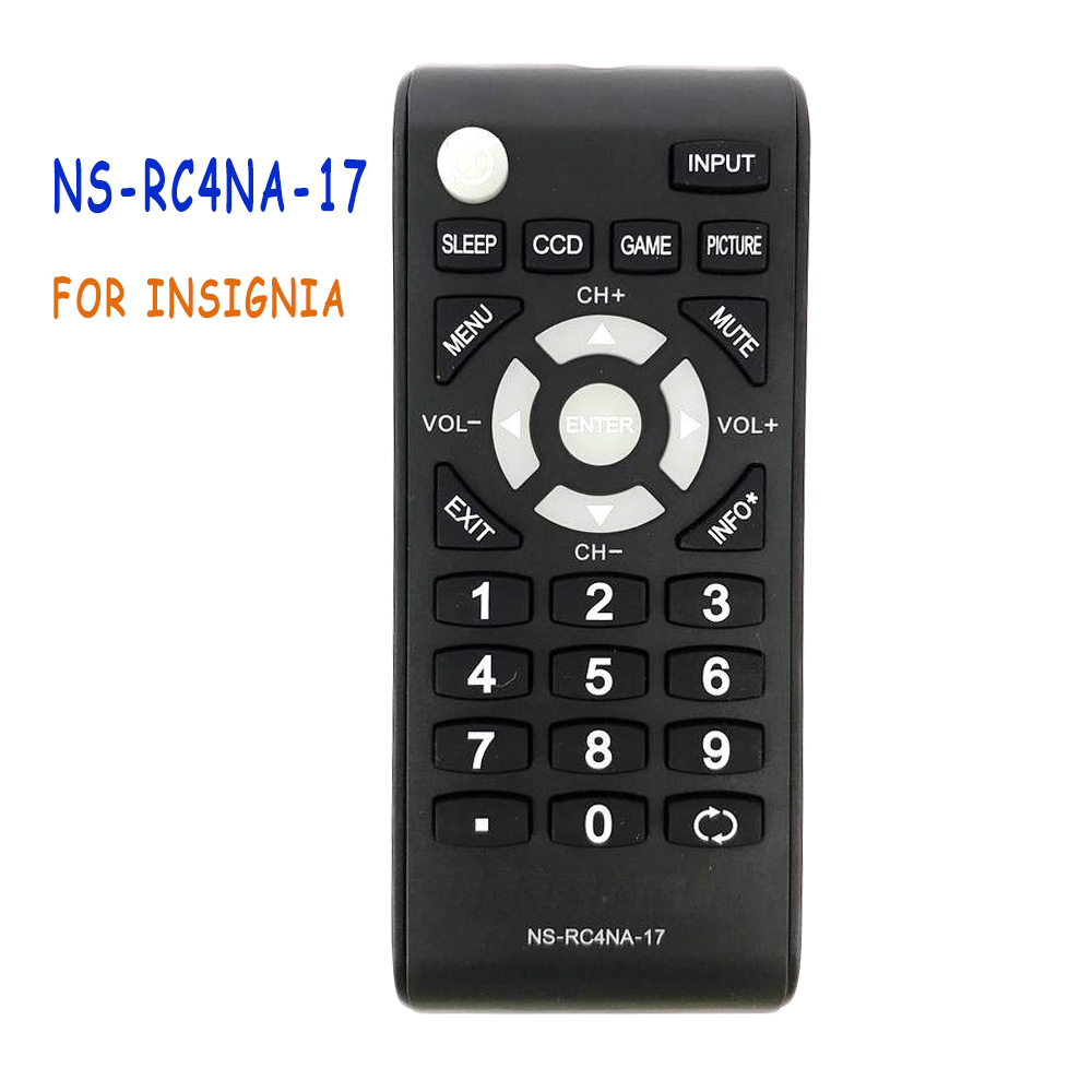 New Original NS-RC4NA-17 Remote Control For INSIGNIA RC4NA17 LED LCD TV NS-32D310NA17 NS-48D510NA17 NS-32D310MX17 Ns-55d510na17