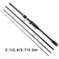 2 1m 2 4m 2 7m 3 0m 100 Carbon Fiber Rod Spinning Fishing Rods