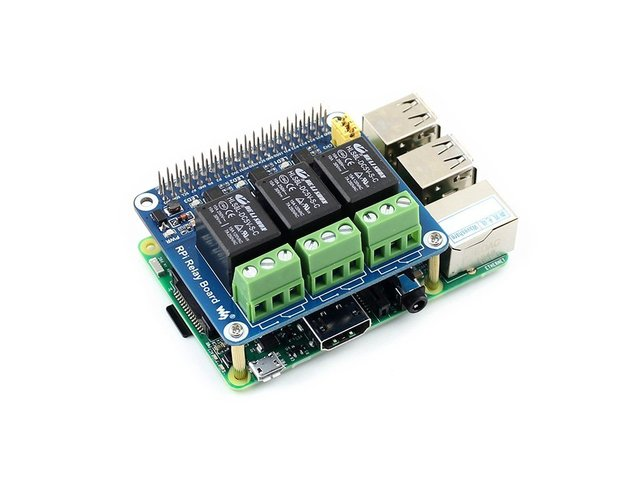 US $21 98 |Waveshare Raspberry Pi Power Relay Board Raspberry Pi Expansion  Board Module Remote Control Make Home Appliances Intelligent-in Integrated