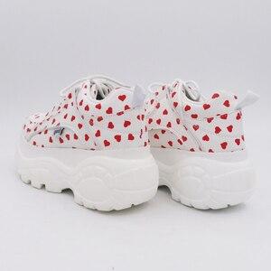 Image 3 - COMFABEA 2020 봄 여성 신발 플랫 플랫폼 스 니 커 즈 여성을위한 신발 레저 컴포트 숙 녀 신발 가을 여성 신발