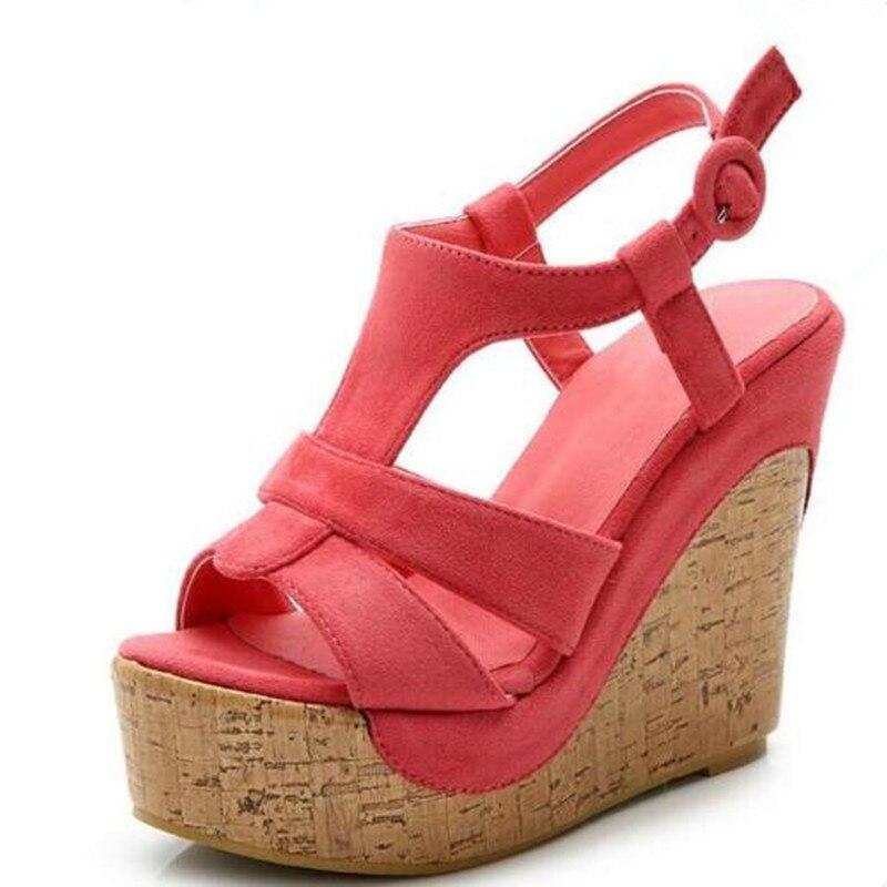 Newest summer women sandals ultra high heels wedges sandals 2019 famous summer Roman Platform shoes woman shoes fashion sandalsNewest summer women sandals ultra high heels wedges sandals 2019 famous summer Roman Platform shoes woman shoes fashion sandals