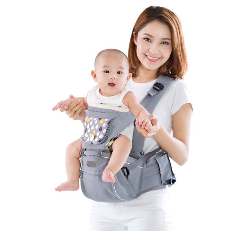 SUNVENO Designer Baby Carrier Infant Toddler Front Facing Carrier Sling Kids Kangaroo Hipseat Baby Care 0-36Months breathable baby carrier backpack portable infant newborn carrier kangaroo hipseat heaps sling carrier wrap