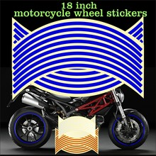 17/18 inch wheel sticker reflective energy circle decal(China)